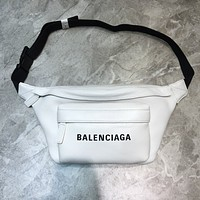 BALENCIAGA MEN'S AND WOMEN'S LEATHER WAIST CHEST PACK CROSS BODY BAG