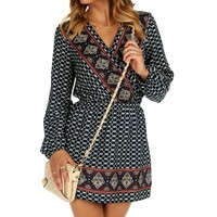 Navy Ethnic Tunic