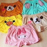 Cute San-X Rilakkuma Lounge Pant Sleep Shorts Sleepware Bottom Hot Sale