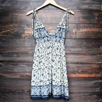 bali nights boho dress