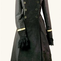 FRENCH MILITARY COAT DRESS