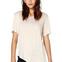 Nasty Gal Playing Favorites Tee - Nude
