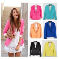 Candy Color Cultivate one's morality  Suit