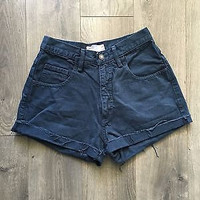 Vintage Guess High Waisted Shorts Size 2/3