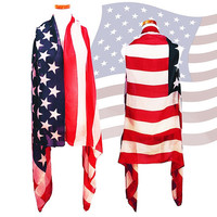 Red, White & Blue American Flag Sleeveless Vest, 4th of July, July Fourth, Independance Day