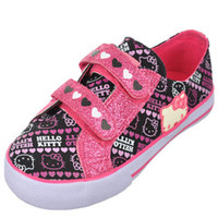 Hello Kitty GirlsHeart Connection Low-Top Sneakers (Toddler Sizes 11 - 12)-hek02542
