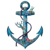 Terry Fan Lost At Sea wall decal