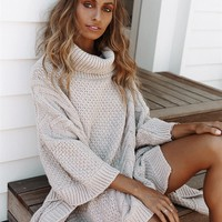 Pebble Knit Tunic - Dresses by Sabo Skirt