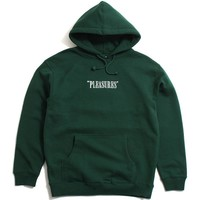 Core Logo Embroidered Hoodie Forest Green