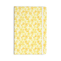 """Julie Hamilton """"Paper Daisy"""" Yellow Everything Notebook"""