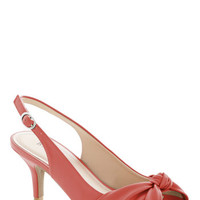 Some Like it Knot Heel in Coral