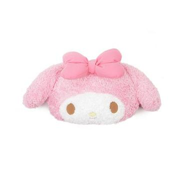 My Melody Face Cushion: Bubblegum Pink Bow