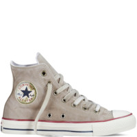 Converse - Chuck Taylor All Star Washed Canvas - Turtledove - Hi Top