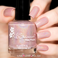 KBShimmer That's Nude To Me Nail Polish