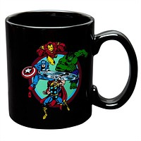 Marvel Heroes - Group Charge Coffee Mug