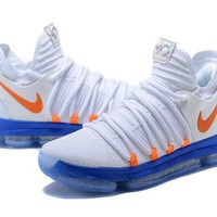 Nike Zoom KD 10 Kevin Durant White/Orange