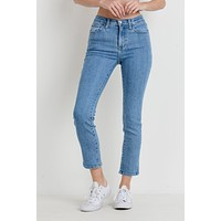 High Rise Clean Cigarette Denim (Size 26, 29, 30)