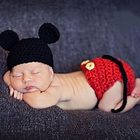 born Baby Girls Boys Crochet Knit Costume Photo Photography Prop Outfits newborn clothes and accessories