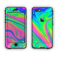 The Neon Color Fushion V3 Apple iPhone 6 LifeProof Nuud Case Skin Set