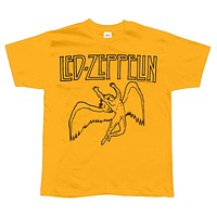 Led Zeppelin - US 77 Flock T-Shirt