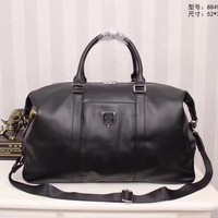 Pp Philipp Plein Leather Casual Travel Bag