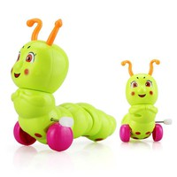 Mini Clockwork Caterpillar Baby Toy