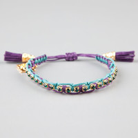 Rose Gonzales Lily Bracelet Teal Blue One Size For Women 24175124601