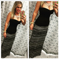 Amarillo Maxi Skirt