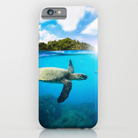 Tropical Paradise iPhone & iPod Case by Nicklas Gustafsson