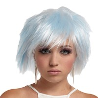 Punky Pixie Wig White-blue for 2017