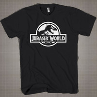 Jurassic World  Mens and Women T-Shirt Available Color Black And White
