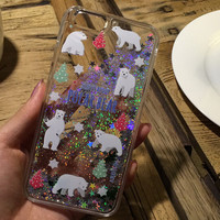 Glitter Animal Iphone Cases for 6 S Plus
