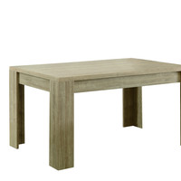 """Natural Reclaimed-Look 36""""X 60"""" Dining Table"""