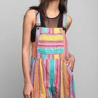 Urban Outfitters - Vintage '80s Geo Short Overall