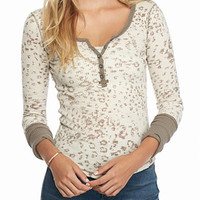 Free People Davis Thermal | Beige
