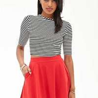 FOREVER 21 Pocket Skater Skirt