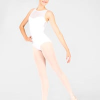 "Free Shipping - Adult ""Merveille"" Swiss Dot Camisole Leotard by WEAR MOI"