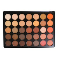 35 Colour Nature Glow Eye Shadow Palette (35O) by Morphe Brushes