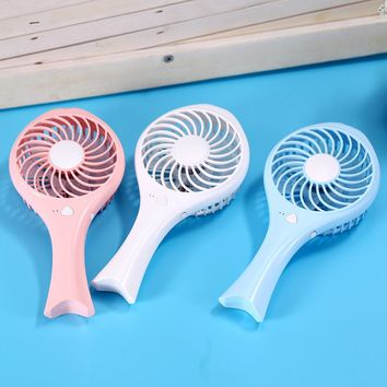 Mini HandHeld USB Battery Rechargeable Cooling Fan
