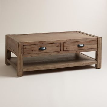 Wood Quade Coffee Table