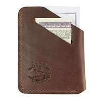 Horween Minimalist Wallet by Over Under Clothing