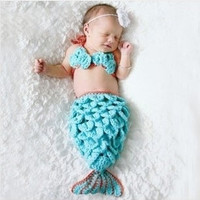 New babies mermaid  modelling    photography consume (Color: Light blue) = 1705241476
