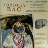 Country Living Dorothy Bag Bermuda Purse Clutch Wallet Sewing Pattern 012D0