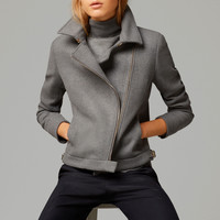 DOUBLE-BREASTED JACKET - View all - Jackets - WOMEN - United States of America / Estados Unidos de América