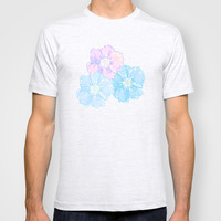 Blossoms Pastel T-shirt by Lisa Argyropoulos