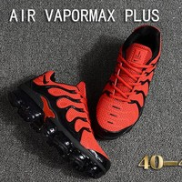 Nike Air Vapormax Plus Tn Ultra Black Red VM Running Shoes - Best Deal Online
