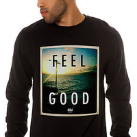 The Feel Good Crewneck Sweatshirt in Black