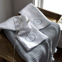 Carta Linen Guest Towels