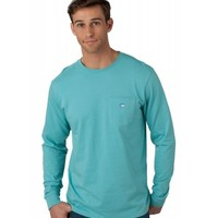 LONG SLEEVE EMBROIDERED POCKET T-SHIRT