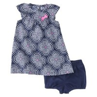 Just One You™Made by Carter's® Girls' Dress and Panty Set - Purple/Pink